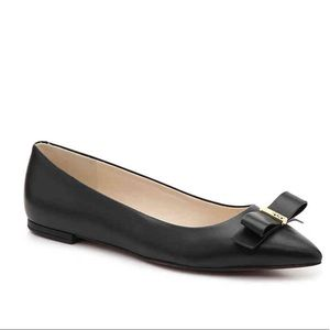 Cole Haan Black Pointed Flats - Elsie Flat